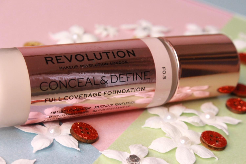 Revolution Conceal and Define Foundation Review on Dry Skin | Auroreblogs – AuroreBlogs